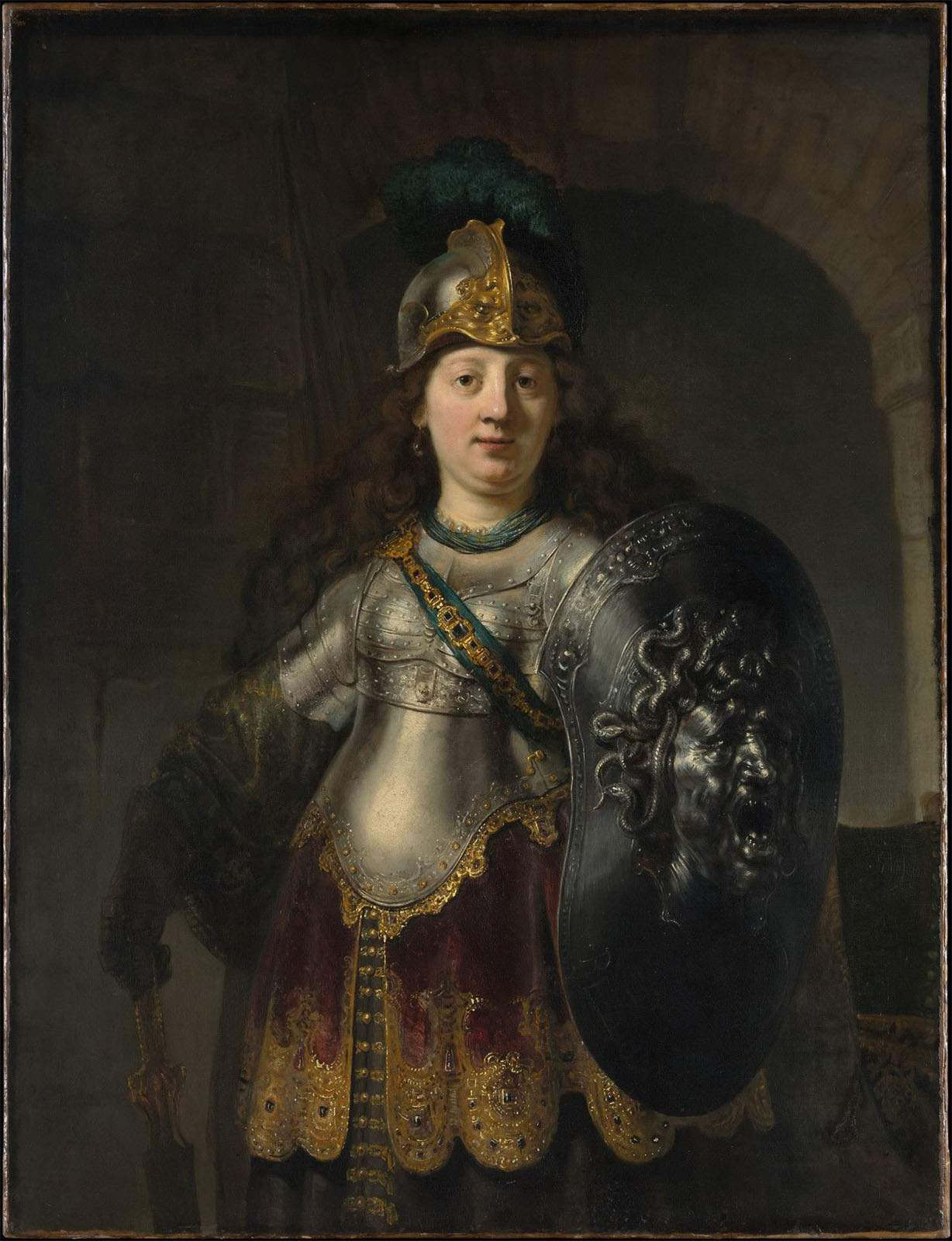 Bellona by Rembrandt in 1633