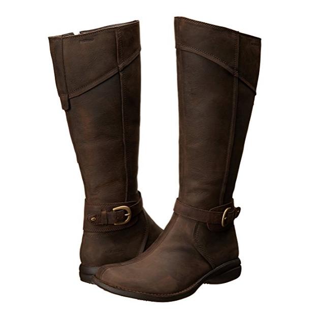 waterproof buckle-up boot