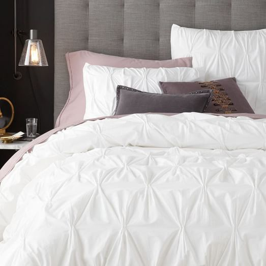 west elm duvet and sham