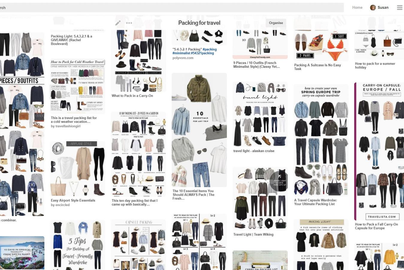 Pinterest capsule wardrobe
