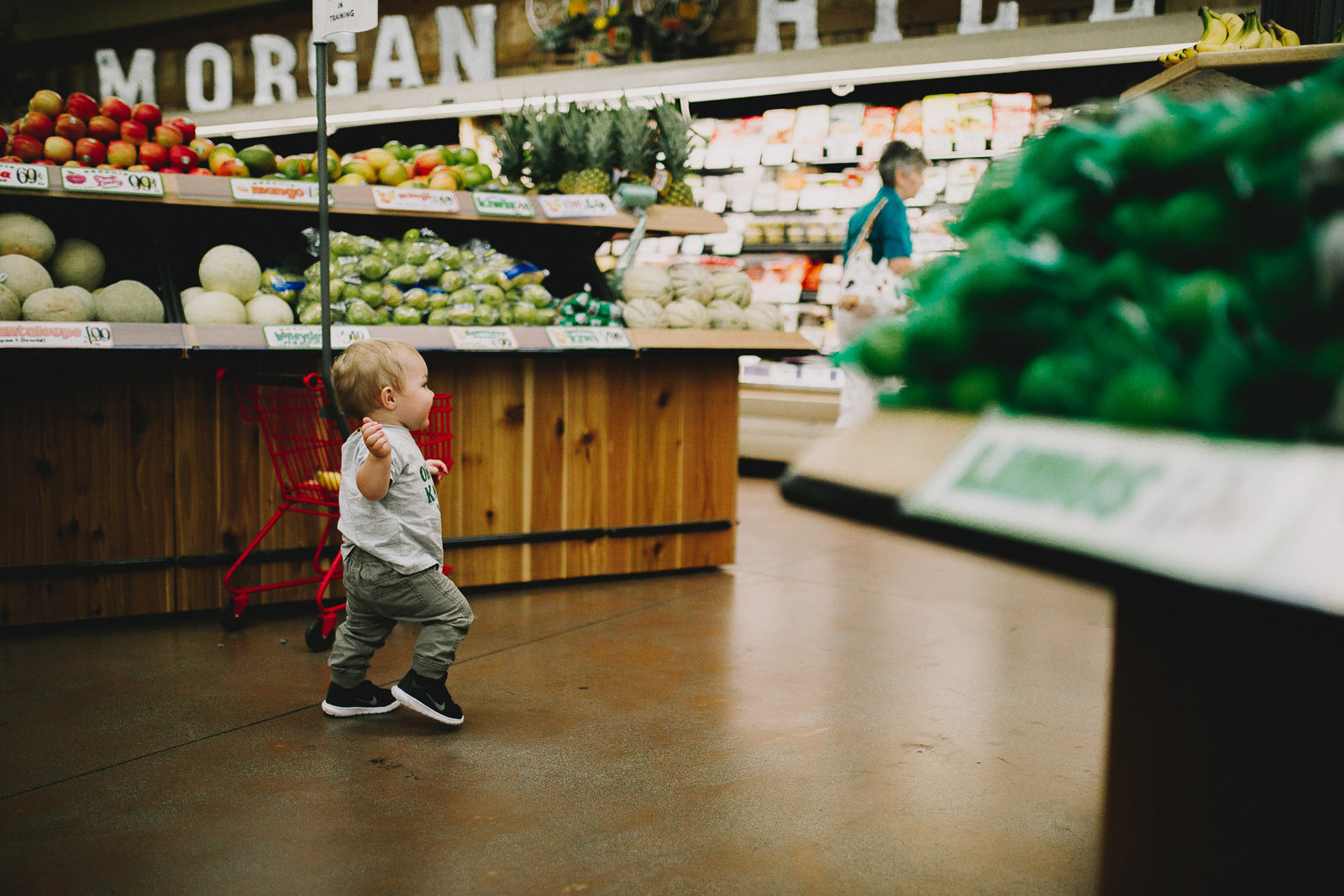 """I knew I needed to embrace the """"lifestyle"""" portion of my work and really dive deep into that. That's when it hit me, the moments I wanted to capture were in my day-to-day life, during my errands like in the middle of grocery shopping."""