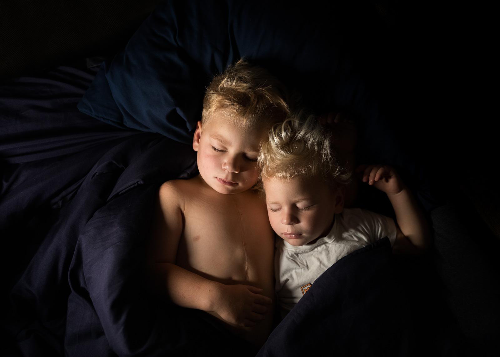 photo of boys sleeping by Danielle Awwad