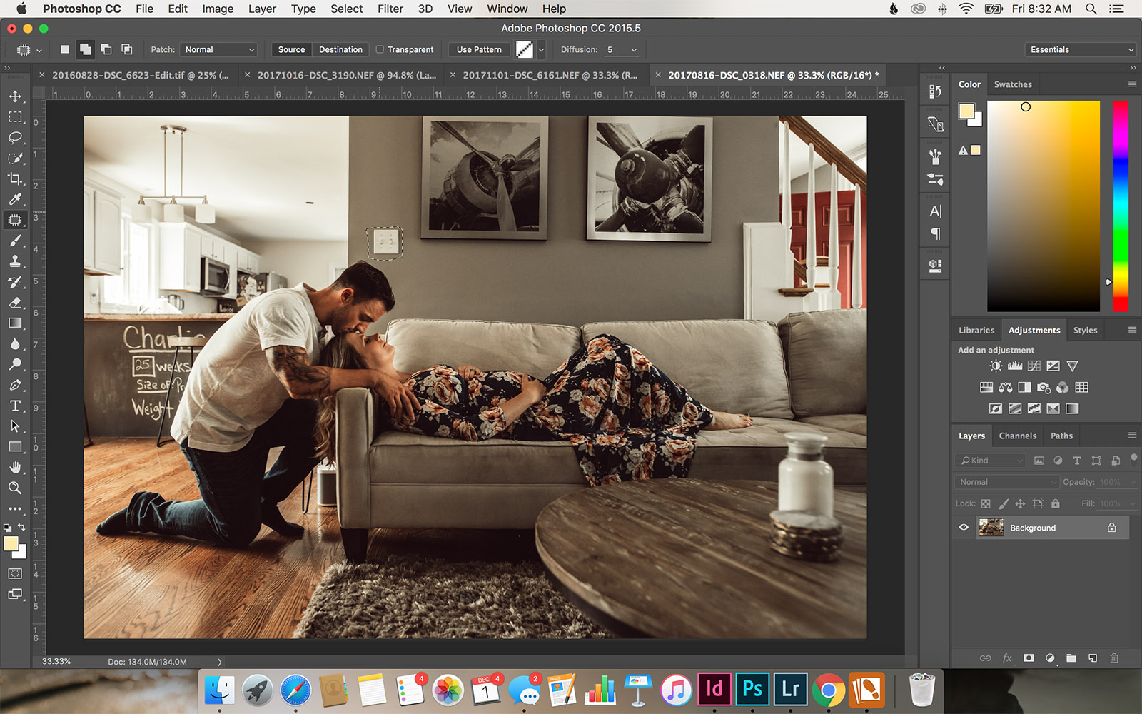 I'm a Lightroom girl. However, there are a few situations where Photoshop can deliver a result that is stronger or faster than what I can do in Lightroom.