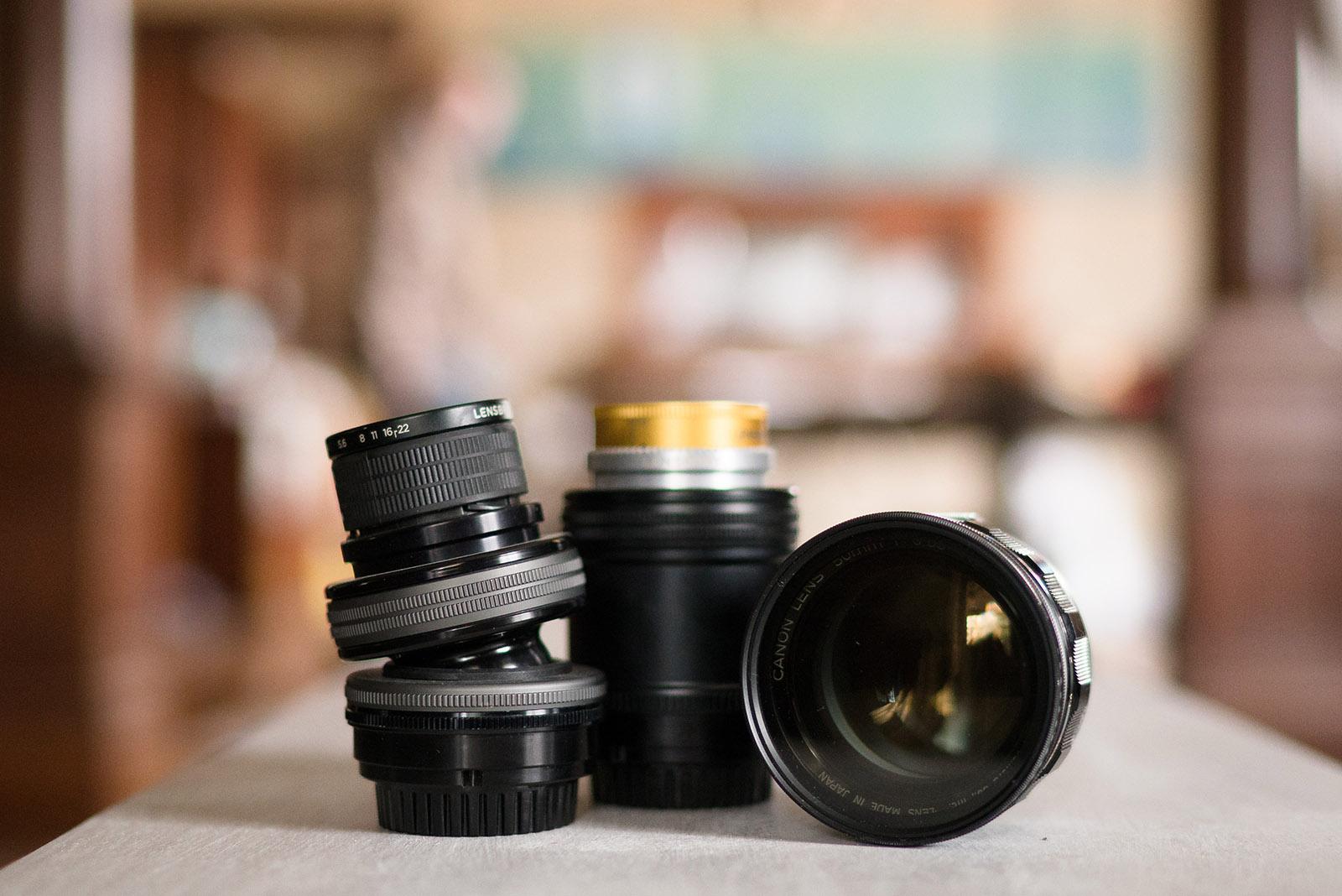 Lensbaby lenses by Caroline Jensen