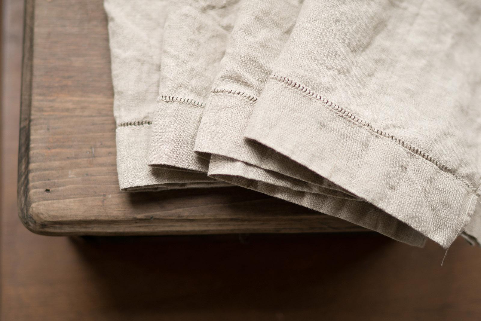 linen towels by Caroline Jensen