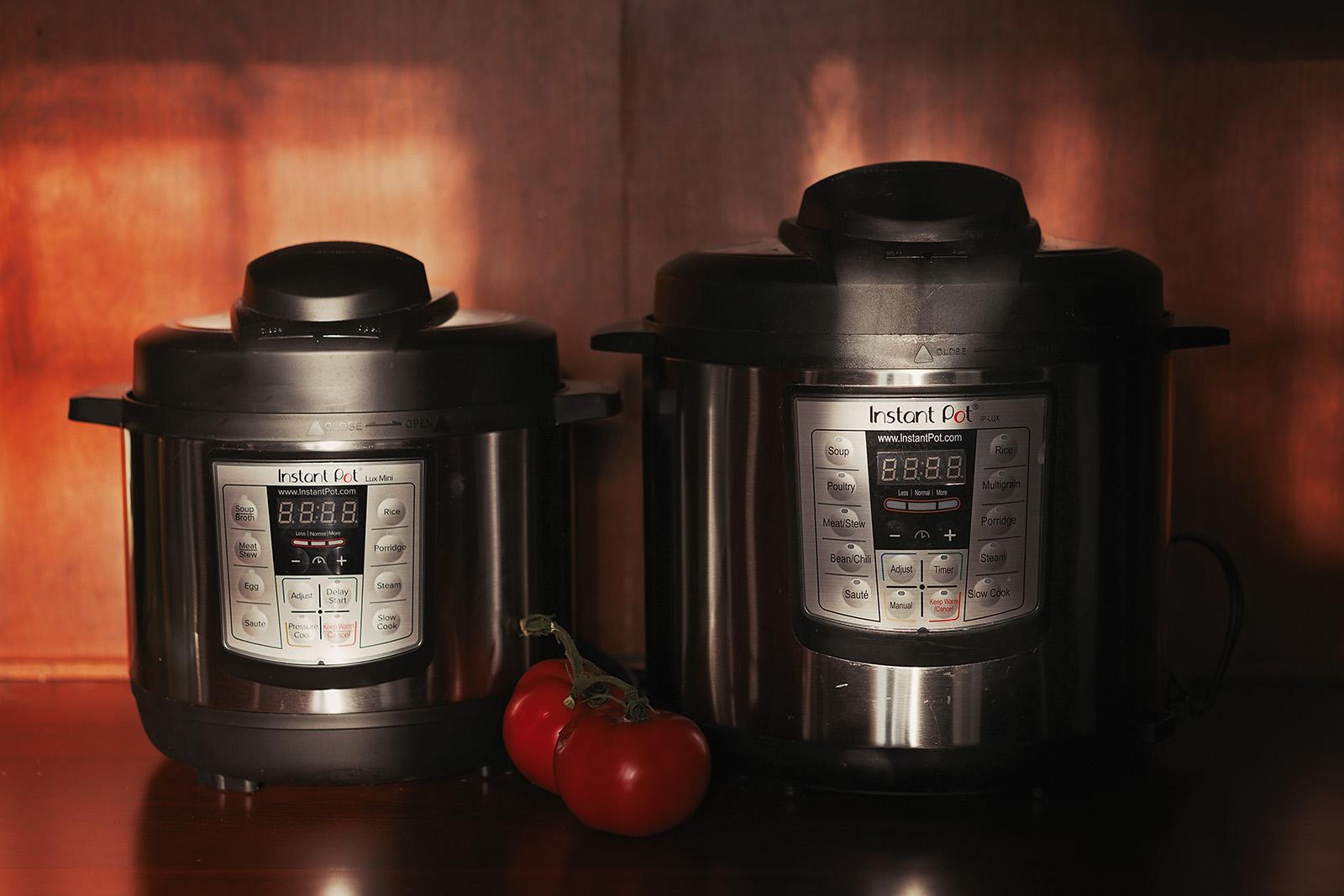 photo of instant pots by Caroline Jensen