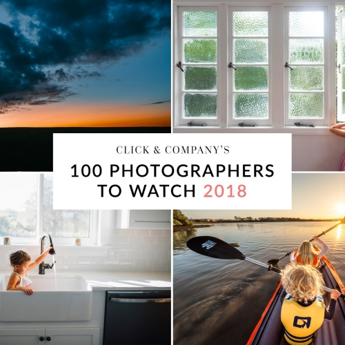 100 Photographers to Watch in 2018