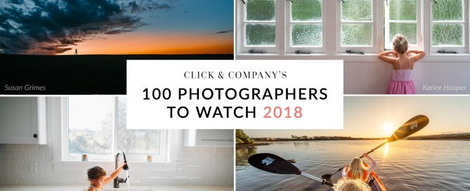 100 Photographers to Watch in 2018 from Clickin Moms