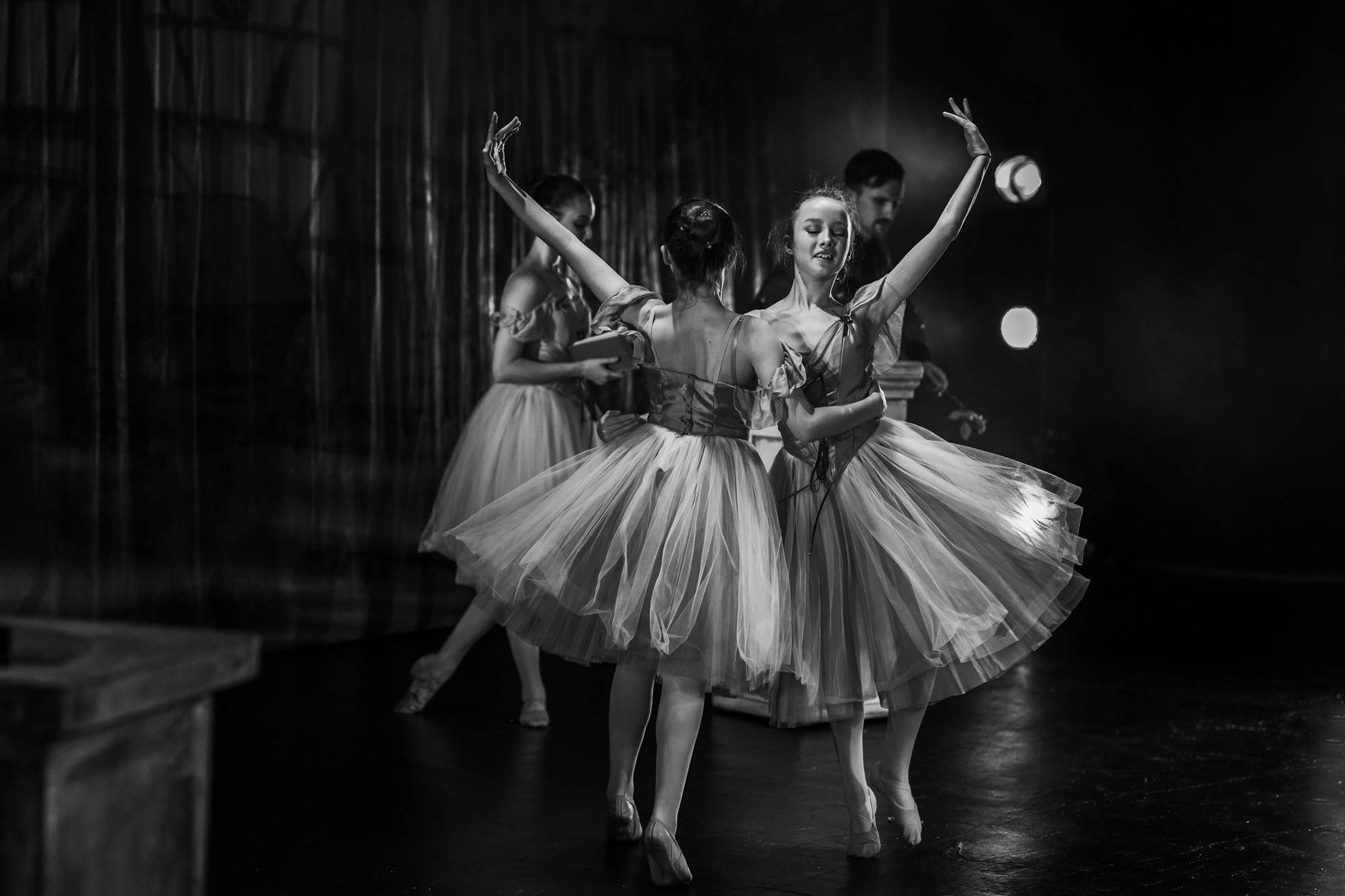 If you have the chance to get backstage at your child's dance show or play, it's the perfect opportunity to take your camera along and capture some memories from the behind the scenes.