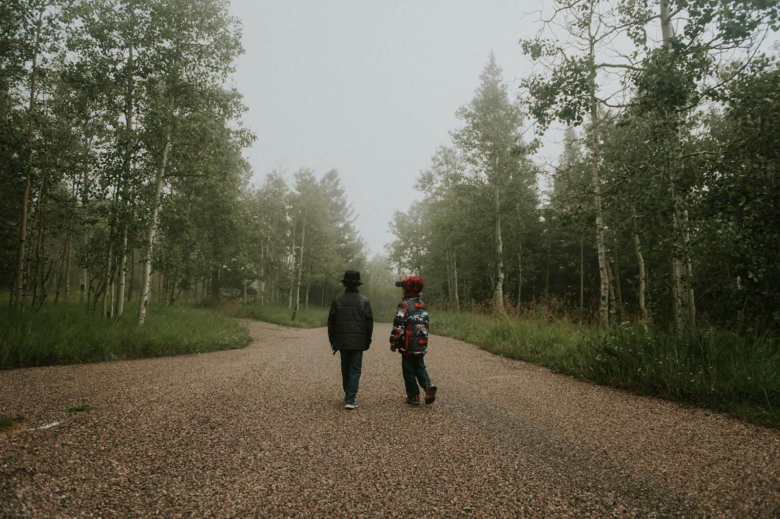 photo of kids walking by Jamie Rubeis