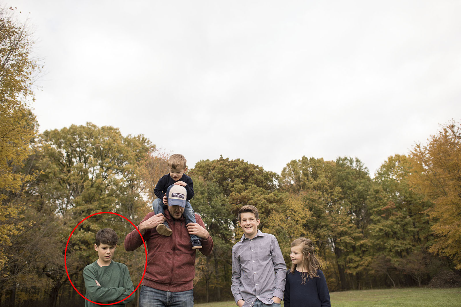 Every year family photos comes with enough drama and hilarity to keep me from daring to try it until twelve more months have passed. And because I love all of you oh so much, I am going to let you have a peek into the grand tradition that is the Bieser annual photo session.