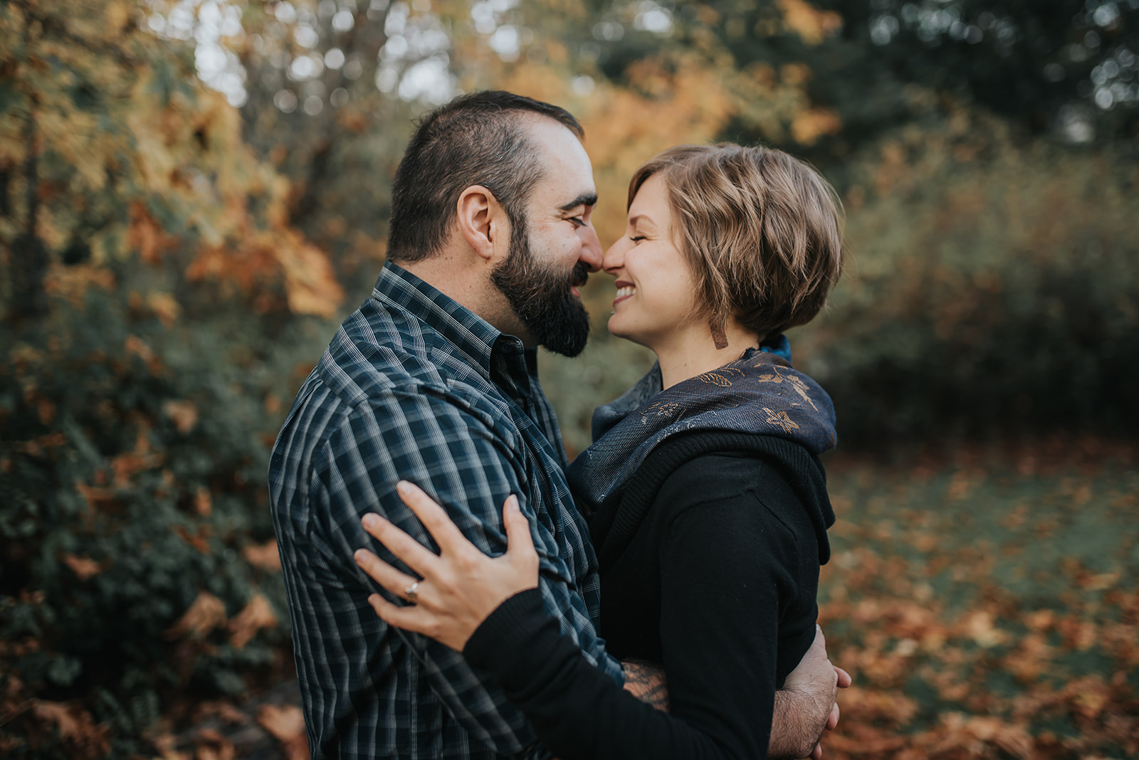 man-and-woman-touching-noses-ebony-logins