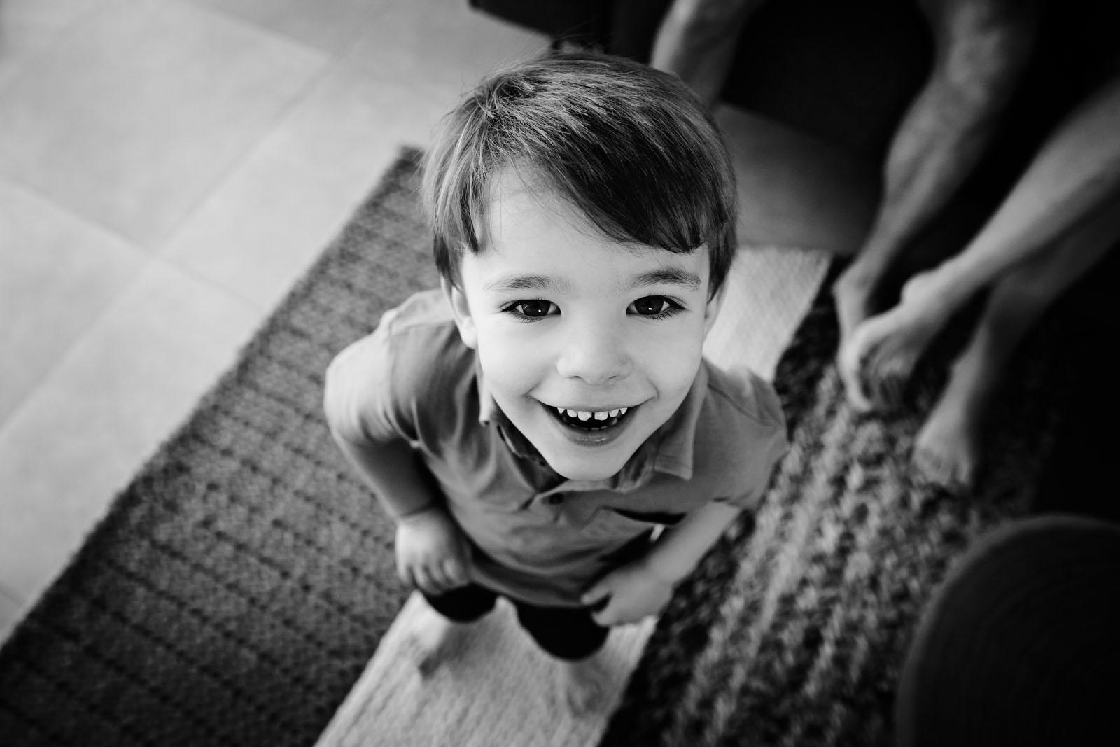 Image14 boy looking up at camera black and white lisa tichane