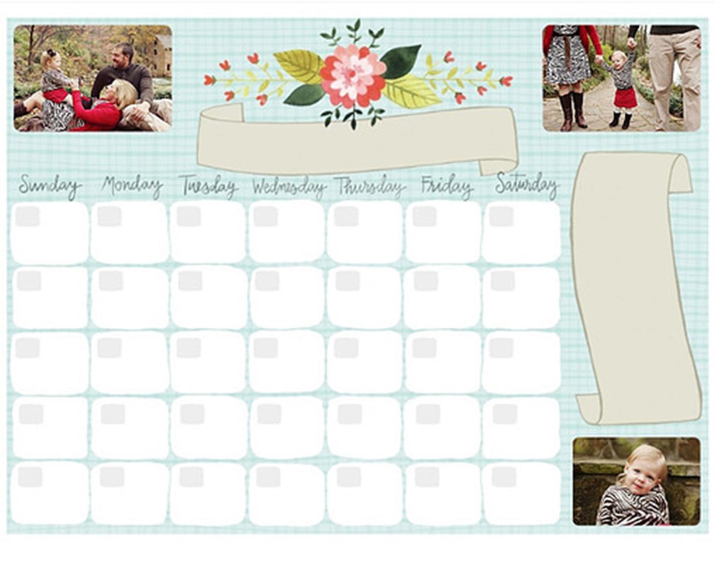 mpix dry erase calendar mothers day gift ideas