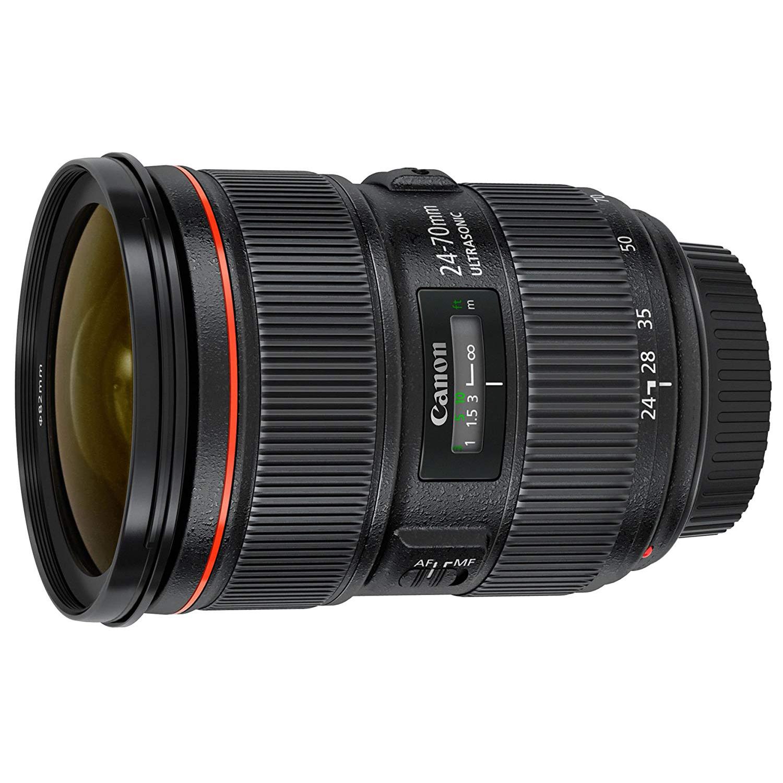 canon 24-70mm f:2.8 lens