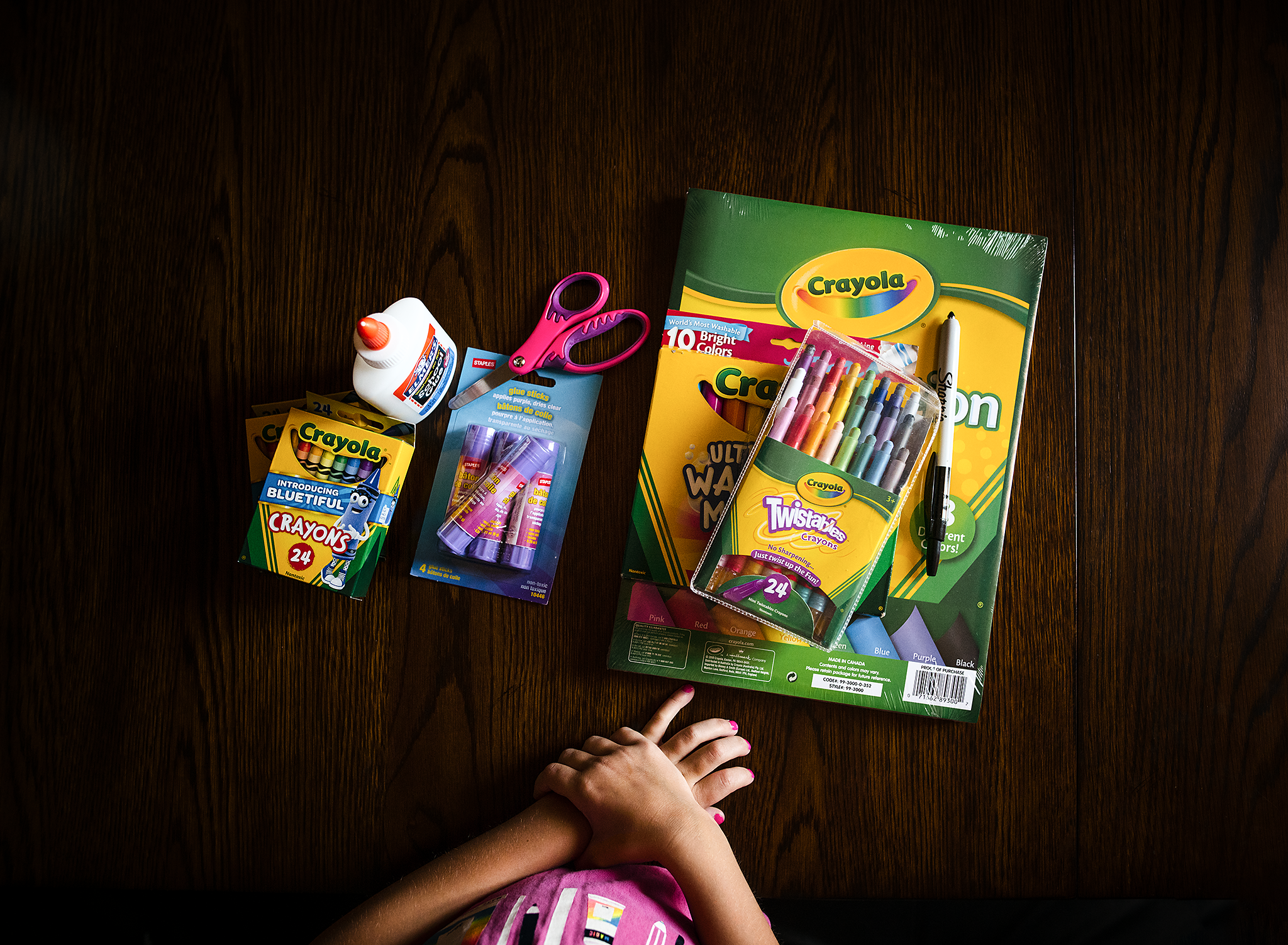 school supplies on table by kate luber