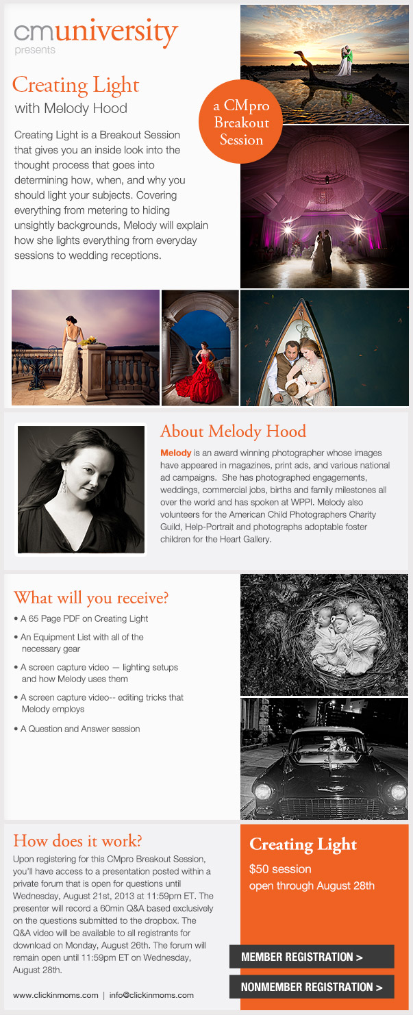 Creating Light with Melody Hood